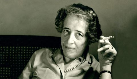 Hannah Arendt © The Hannah Arendt Center for politics and humanities at Bard College.